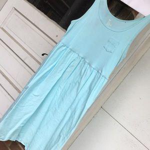 Aqua blue GAP dress